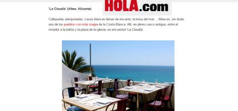 Opiniones Restaurantes en Altea La Claudia | Hola.com
